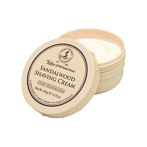 Crème à Raser Indian Sandalwood Crabtree & Evelyn