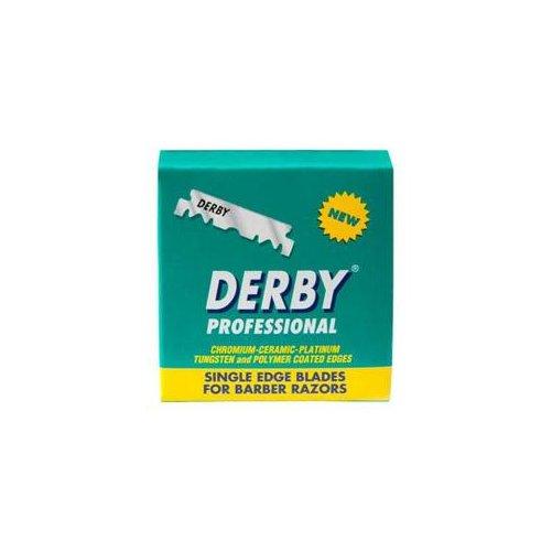 Demi lames plates Derby pour shavette
