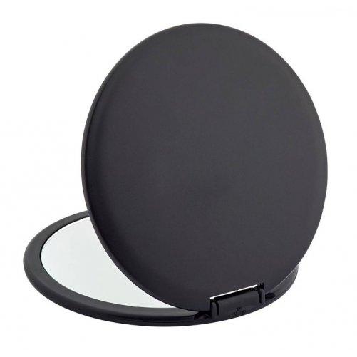 Miroir de voyage rond noir Novex