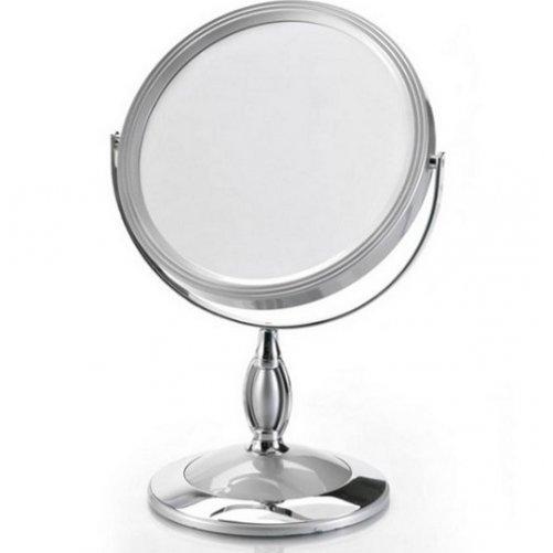 Miroir gris sur pied NOVEX
