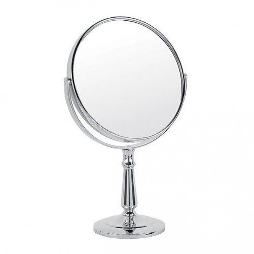 Miroir grossissant x 10 de sac voyage ovale gerson miroirs de maquillage - Miroir ovale sur pied ...