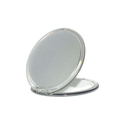 Miroir rond de voyage acrylique argent Novex