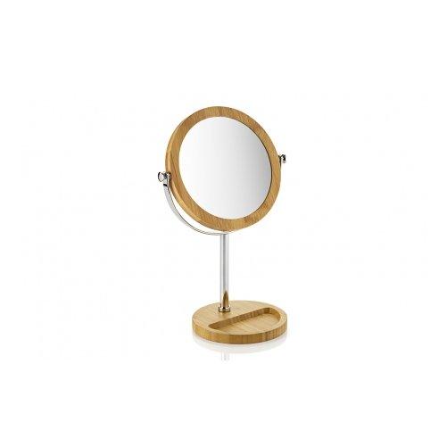 Miroir sur pied en bois miroir psychcoffre bijoux en bois inclinable lxhcm sabrina blanc enya - Miroir ovale sur pied ...