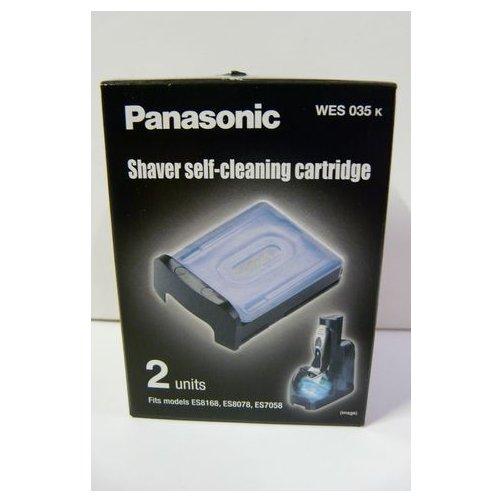 2 cartouches nettoyantes rasoirs Panasonic