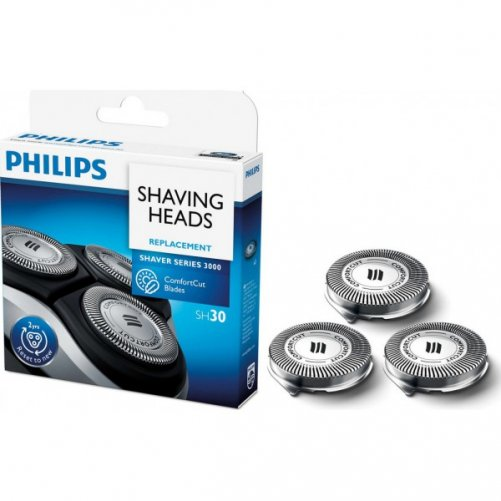 3 Têtes philips SH30