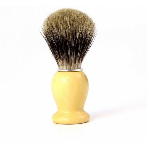 Blaireau de Rasage en Buis Gentleman Barbier