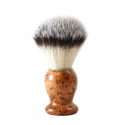 Blaireau de Rasage Fibre Synthétique THUYA Gentleman Barbier