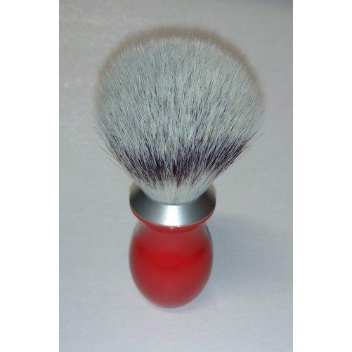 Blaireau poils de synthèse rouge Halmont