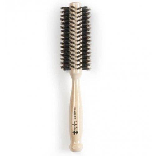 Brosse à cheveux en poils de sanglier Lafolie