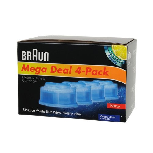 Cartouches de liquide nettoyant Braun