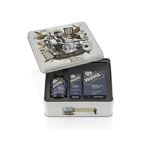 Coffret barbe Azur Lime Proraso