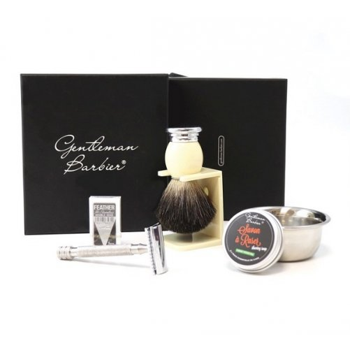 Coffret de rasage traditionnel Gentleman Barbier