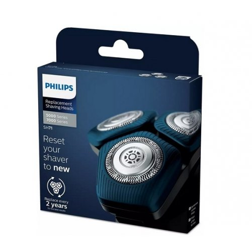 Lot de 3 têtes de rechange Philips SH71