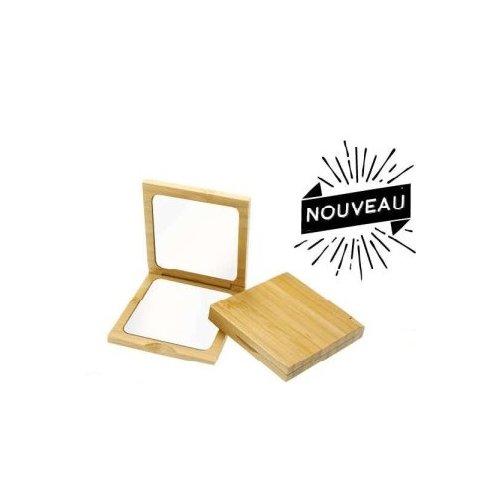 Miroir de sac carré grossissant x 3 Novex
