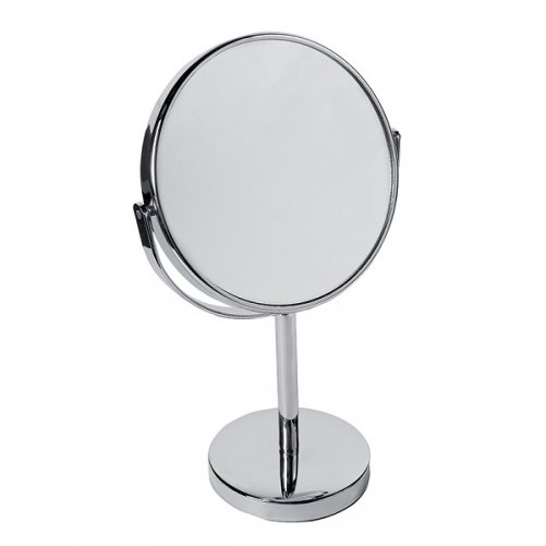Miroir sur pied chromé NOVEX