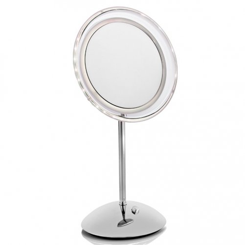Miroir sur pied lumineux x 10 Novex