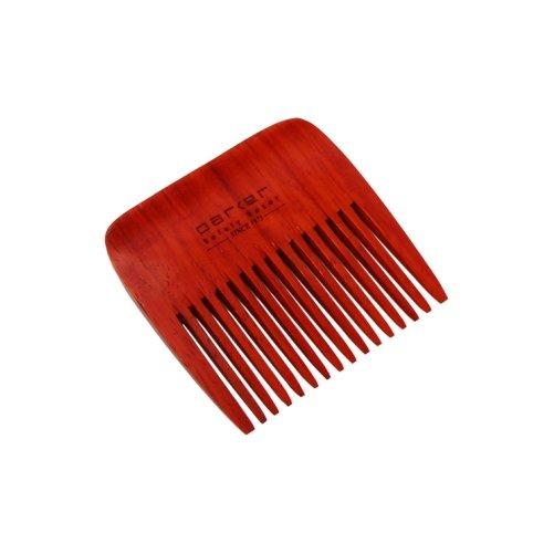 Peigne à barbe en bois de rose Parker