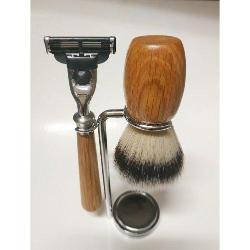 Set à raser Mach3 Vegan Gentleman Barbier
