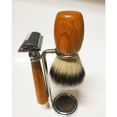 Set à raser sécurité vegan Gentleman Barbier
