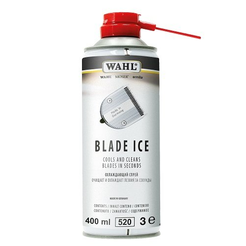 Spray 3 en 1 BLADE ICE 400 ml WAHL pour tondeuse