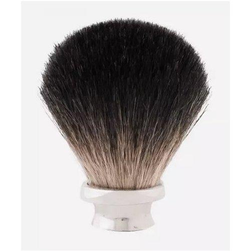 Touffe de blaireau poils noirs