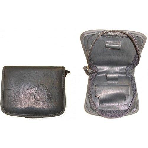 Trousse cuir pour rasoir électrique de voyage