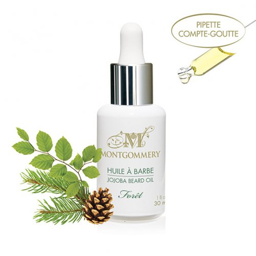 Huile à barbe Forêt Montgommery 30 ml