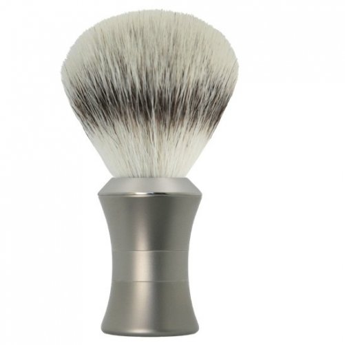 Brosse à raser luxe inox satin Halmont