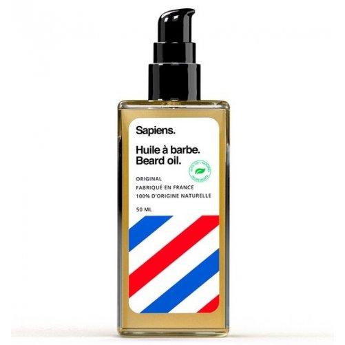 Huile à barbe 50 ml Sapiens Cèdre & Agrumes