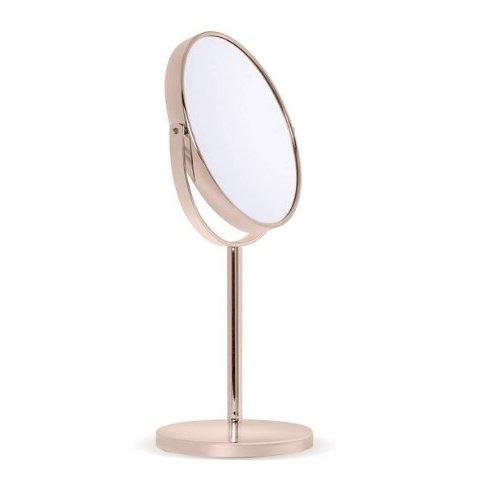 Miroir grossissant x10 sur pied Rose Gold Novex