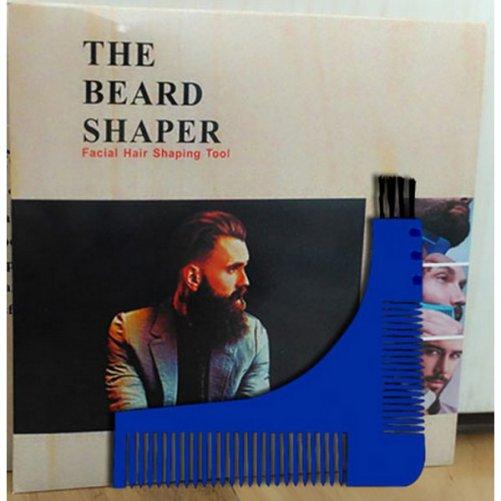 Peigne guide contour barbe