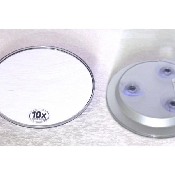 Miroir ventouse novex moyen modle grossissement x 10 for Miroir ventouse